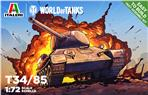 World of Tanks T34/ 85 Fast Assembly Kit