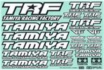 TRF Sticker C (Mirror Finish)