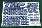 TRF Sticker (Blue Border/Mirror Finish)