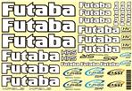 Futaba Sticker Sheet Car