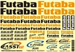 Futaba Sticker Sheet Air