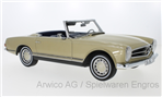 Mercedes 280SL (W113), gold, Pagode 1968