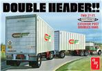 Double Header Tandem Van Trailers