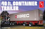 40' Semi Container Trailer