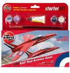 Small Starter Set - RAF Red Arrows Gnat