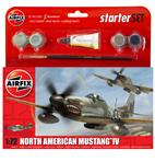 Small Starter Set - North American Mustang Mk.IV