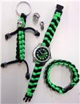 Make your Watch black & neon green